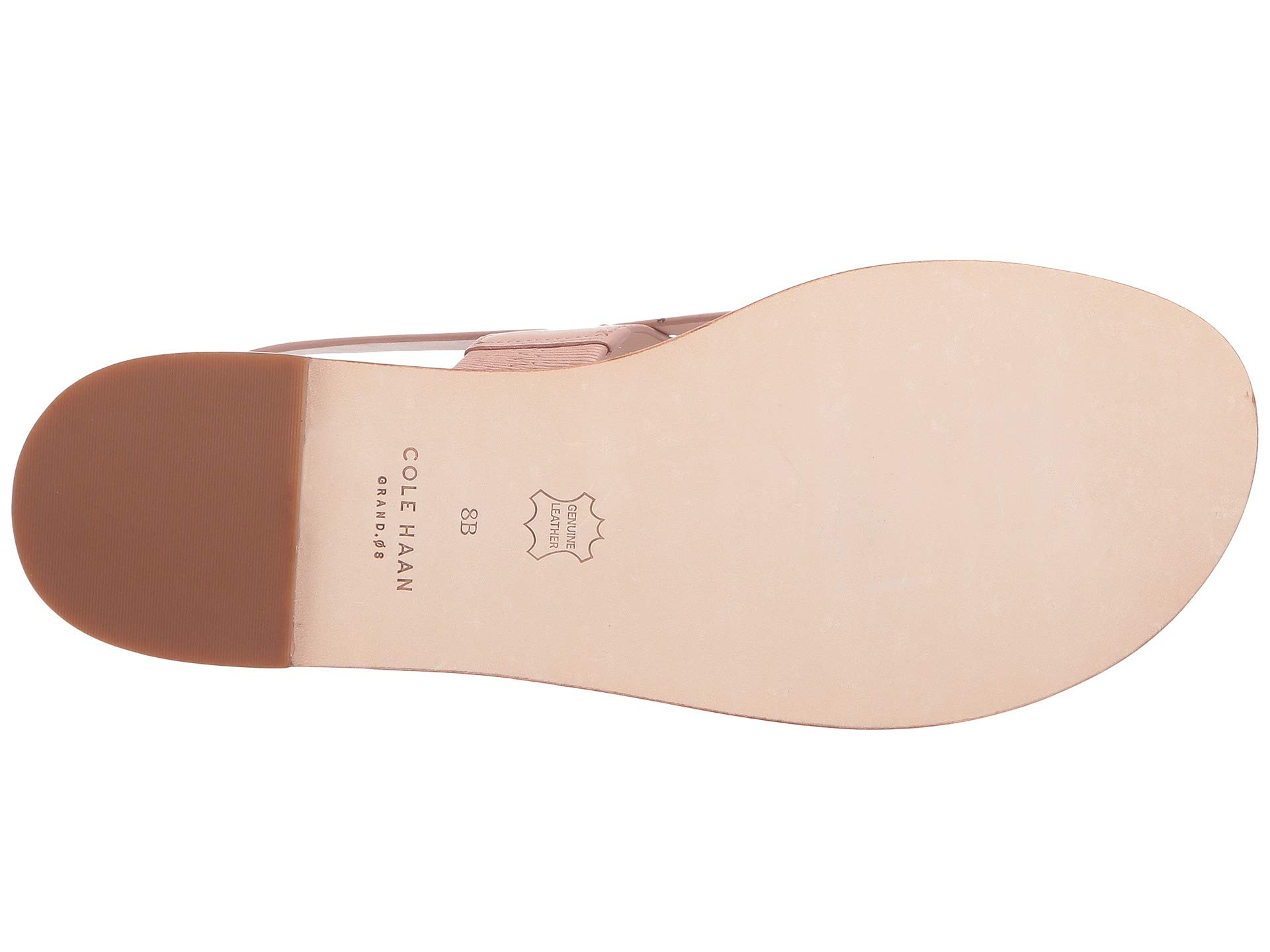 Haan Cole os G Sandal Thong Misty Anica Leather Rose rrqwdCTFa