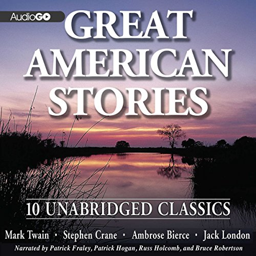 Great American Stories audiobook cover art