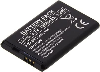 foto-kontor Akku f r Microsoft Lumia 435 Lumia 532 Ersatzakku Accu Batterie Schätzpreis : 11,99 €