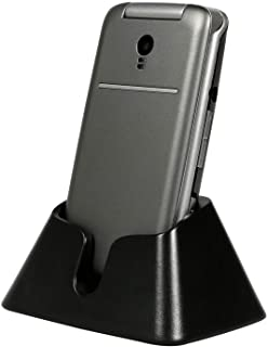 "artfone 3G Unlocked Flip Phone,Senior Phone with Charging Cradle and 2.4"" Large Screen for Elderly, Unlocked Mobile Phone(..."
