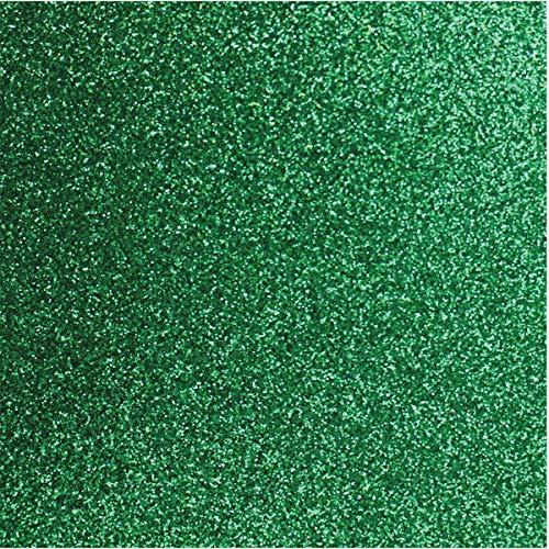 Make+ 9742, Placa Em Eva Com Glitter, 60 X 40 Cm, 2 Mm, Pacote De 05 - Verde