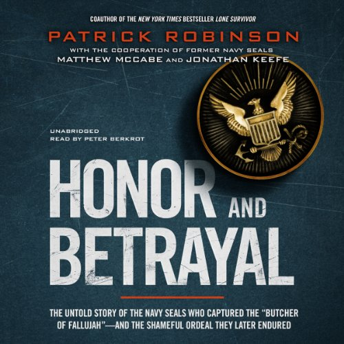 Honor and Betrayal audiobook cover art