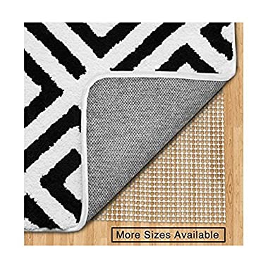 Gorilla Grip Original Area Rug Gripper Pad (6x9), Made In USA, For Hard Floors, Pads Available in Many Sizes, Provides Protection and Cushion for Area Rugs and Floors