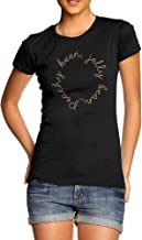 TWISTED ENVY Womens Funny Tshirts Peachy Keen Jelly Bean