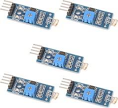 C.J. SHOP 5PCS LM393 Light Detection Optical Sensitive Resistance Sensor Module Photosensitive Sensor for Arduino 4 pin