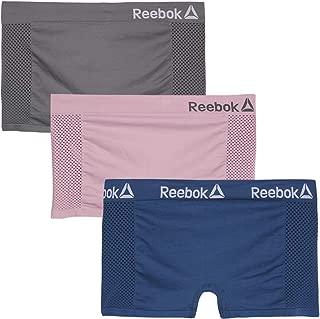 Women Plus Size Seamless Boyshort Panties Underwear (3 Pack)
