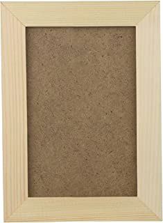 8 Inch Wooden Pictur Natural Eco Wood P Frame with High Definition Acrylic for Wall Hanging and Tabletop P Display