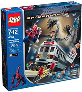 Rescue 4855 from Lego Spider-Man 2 train Jack
