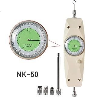 VTSYIQI NK-50 Mechanical Analog Push Pull Gauge Force Gauge Dynamometer Measuring Instruments Thrust Tester Push Pull Force Gauge China , White