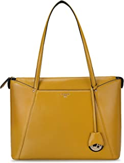 Yellow Vianna Tote Bag