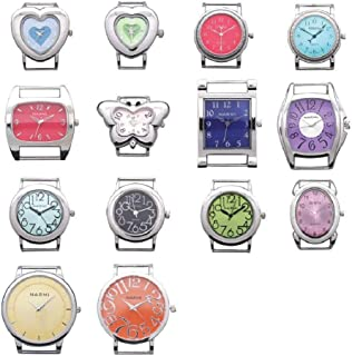 10 Pcs of Mix Ribbon Bar Watch Faces for Jewelry Making