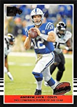 2019 Donruss Highlights Football #16 Andrew Luck Indianapolis Colts Official NFL Trading Card From Panini America