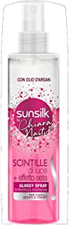 SUNSILK Scintille di Luce +effetto seta by Chiara Nasti, Glossy Spray, 200 ml