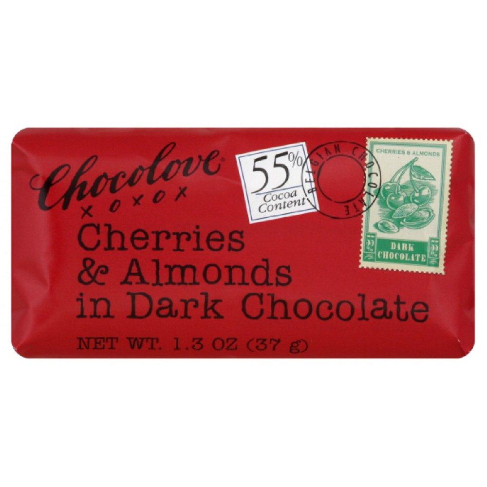 latest Chocolove Xoxox Premium Chocolate Dark Product - Cherrie Bar
