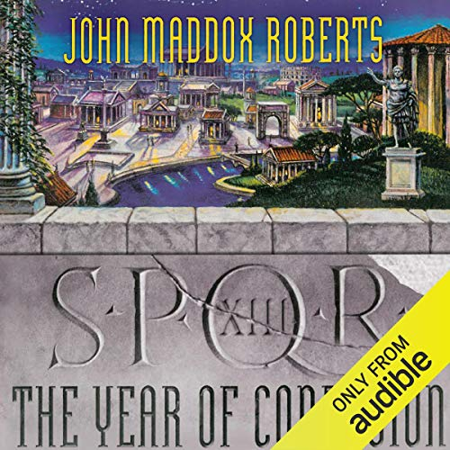 SPQR XIII: The Year of Confusion audiobook cover art