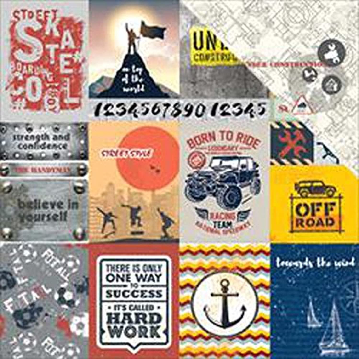 Scrapberry's Cards #1 Adventure Awaits Double-Sided Cardstock