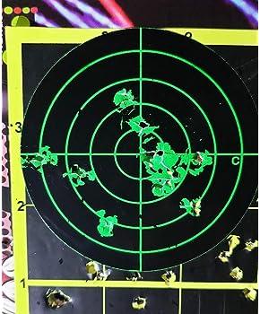 20pcs Adhesive Hunt Target Shooting Stickers Ultimate Gun Shooting Solution W2I9