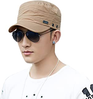 Comhats Mens Classic Army Military Combat Cap Camouflage/Black/Green
