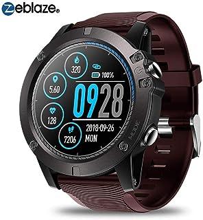 Zeblaze Vibe 3 PRO - Reloj inteligente con Bluetooth, podómetro, pulsómetro, rastreador deportivo, extra largo en modo de espera, resistente al agua, pulsera inteligente para Android IOS (rojo)