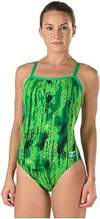 Speedo Women's Endurance+ Art School Flyback Swimsuit