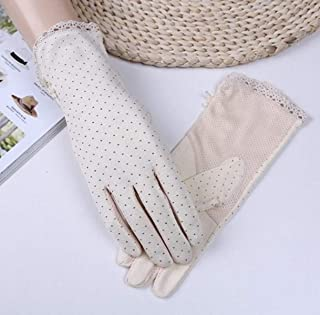 1 Pc (1 Pair) Women Polka Dot Cotton Winter Glove Driving Unisex Mens Womens Girls Toddler Paradisiacal Popular Extreme Gym Baseball Tactical Work Hand Wrist Straps Dryer Touch Gloves