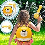 Water Guns,Pool Toys for Girls Boys,Backpack Water Toys for Kids Toddlers,Large Capacity 1998CC Water Gun Toys for 3-5 Year Old Boys Girls,Squirt Water Guns,Summer Gift Outdoor Toys for Kids Ages 4-8