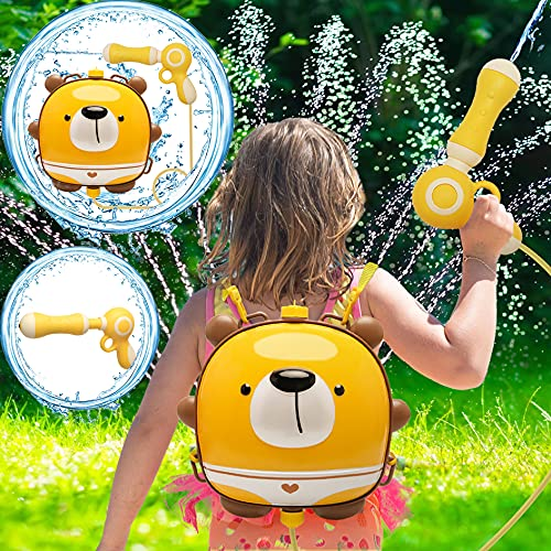 Pool Toys,Water Guns Toys for Girls Boys,Outdoor Games,Backpack Water Toys for Kids Toddlers,Large Capacity 1998CC Water Toys for 3-5 Year Old Boys Girls,Squirt Water Gun,Summer Gift for Kids Ages 4-8