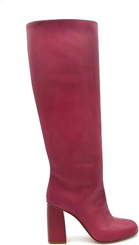rot Valentino EZBC026068 Damen Fuchsia Leder Stiefel