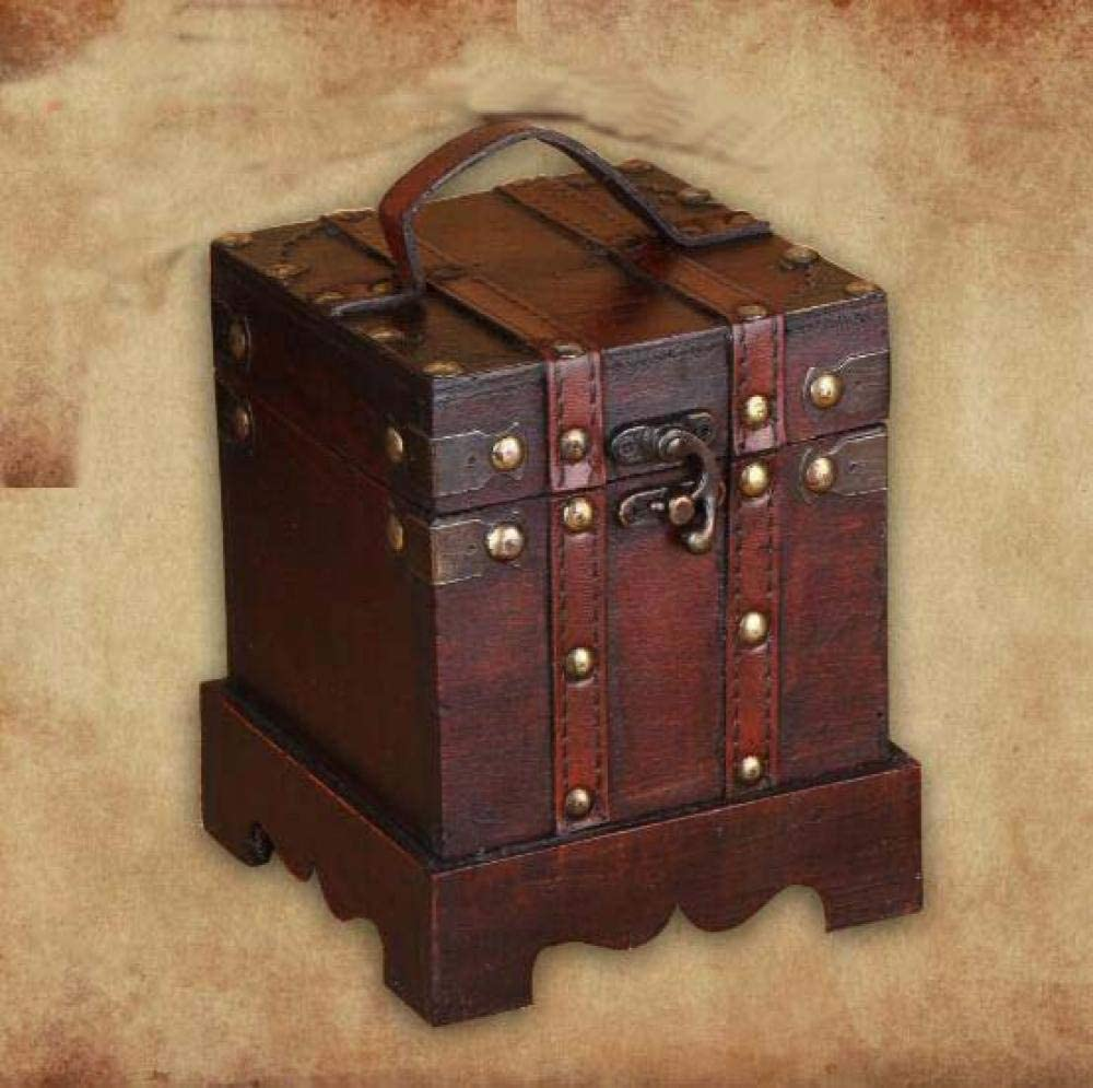 Super popular specialty store Statue Decorations gift Outdoorwooden Box Gift Ancient Imitation