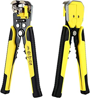 Meterk Professional 4 In 1 Wire Crimpers Engineering Ratcheting Terminal Crimping Pliers Bootlace Ferrule Crimper Tool Cor...