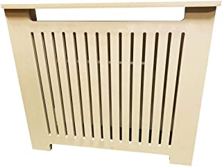 Unfinished MDF Radiator Heater Cover, 26 Tall x 32 Wide - Custom Size - Model MD7