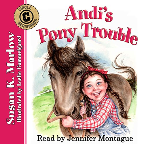 Andi's Pony Trouble audiobook cover art