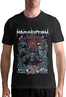 Heaven Shall Burn Camiseta para Hombre con patrón Personalizado de Manga Corta Top Tees