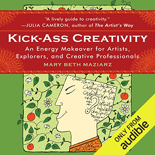 Kick-Ass Creativity audiobook cover art