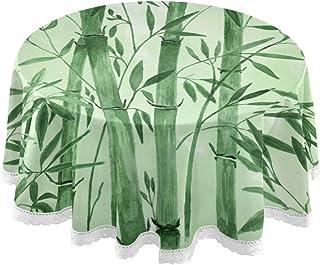 Wachstuch Tischdecke Wachstischdecke Bambus Rio Grün Größe wählbar LFGB
