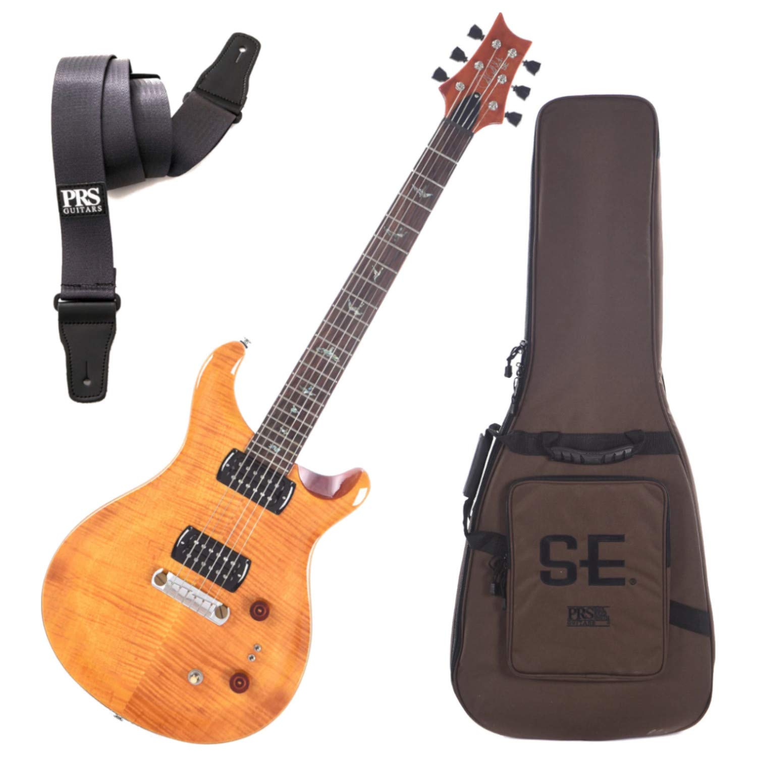 Cheap PRS Paul Reed Smith 103495 SE Paul s Guitar Electric Guitar (Amber) w/Gig B Black Friday & Cyber Monday 2019