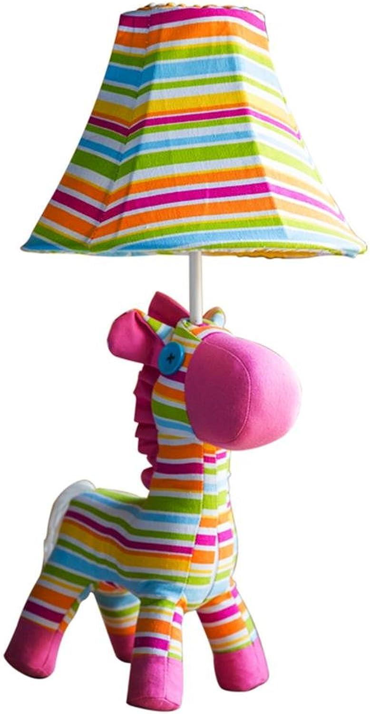 Uncle Sam LI- Tischlampen der Karikaturstoffpony-Kinder, E27   220V, dekorative LED-Schreibtischlichter der Kinder Studie Schlafzimmer