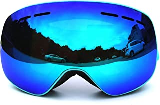 TPU PC Magnet Ski Goggles Large Spherical Double Permanent Anti Fog Snow Mirror Outdoor Climbing Mirror