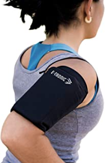 Phone Armband Sleeve: Best Running Sports Arm Band Strap Holder Pouch Case for Exercise Workout Fits iPhone X XS 6S 7 8 Pl...