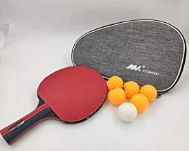 YALESS(M K)(R&B Knight) Special Table Tennis bat for six Star Competition(Shakehand Grip)