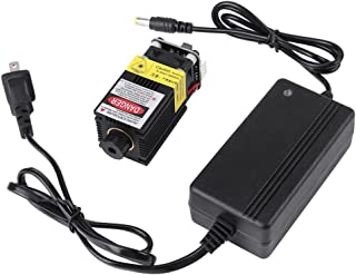 2.5W 445nm TTL Blue Laser Module Adjustable-Focus, 100-240V Laser Head Engraving Modulewith Heatsink for DIY Laser Engraver Machine