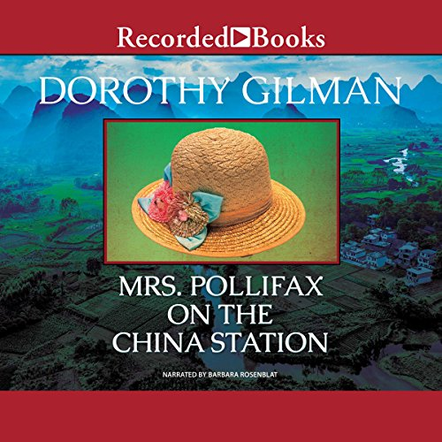 Mrs. Pollifax on the China Station audiobook cover art