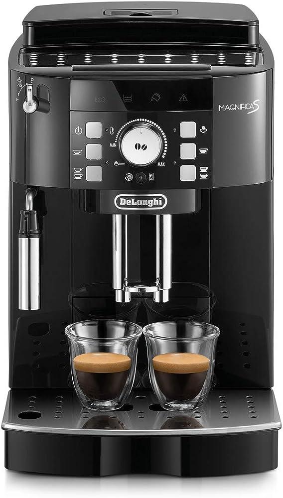 delonghi de`longhi magnifica s macchina da caffè automatica per espresso e cappuccino ecam 21.110.b