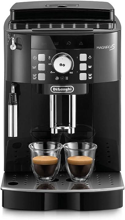 Macchina da caffè automatica per espresso e cappuccino de`longhi magnifica s ecam21.110.b