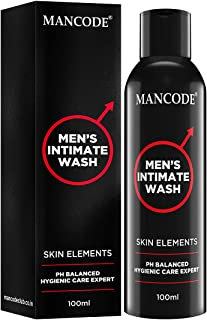 Mancode Intimate Wash for Men - 100ml | Personal Intimate Hygiene | Prevents Itching - Irritation and Dryness Caused by Sw...