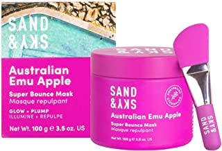 Sand & Sky Australian Emu Apple Super Bounce Face Mask. Hydrating and Moisturizing Face Mask