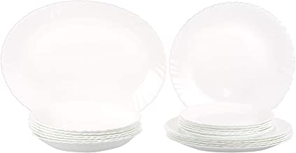 Arcopal 09-090 WHITE 19PCS DINNER SET