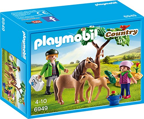 Playmobil 6949 - Ponymama mit Fohlen