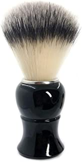 CSB Safety Razor SYNTHETIC Bristle Shaving Brush with Black Handle