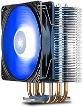 DEEPCOOL GAMMAXX 400 V2 Blue LED air CPU Cooler for Intel LGA1200/1151/1150/1155/1366 and AMD AM4/AM3+/AM3/AM2+/AM2/FM2+/F...